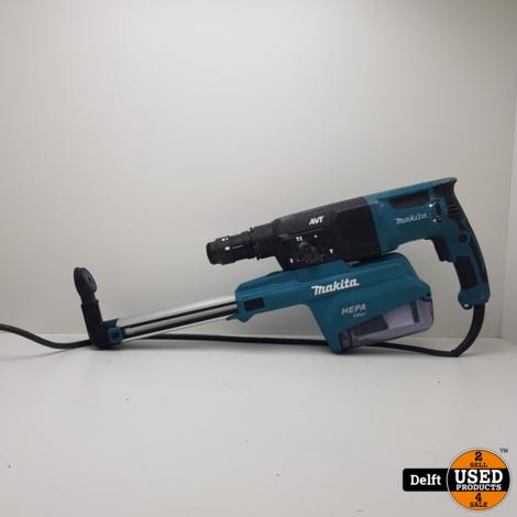 Makita HR2651T 230Volt Boorhamer/Breekmachine garantie