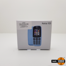 Nokia 105 nieuw in doos garantie tot 04-09-2023