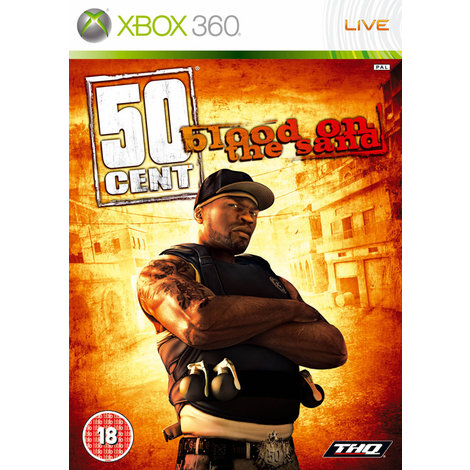 50 Cent Blood of the Sand  - XBox 360 Games