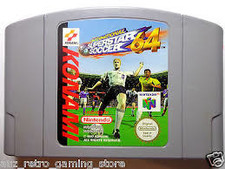 International Superstar Soccer - N64 Game