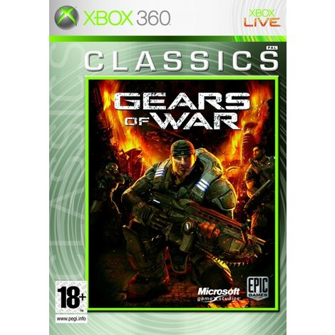 Gears of war classics - xbox 360 game