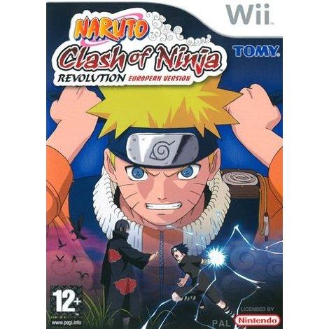Naruto Clash Of Ninja Revolution European Version - Wii game