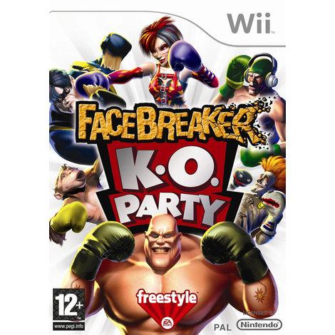 Facebreaker K.O. Party - Wii game