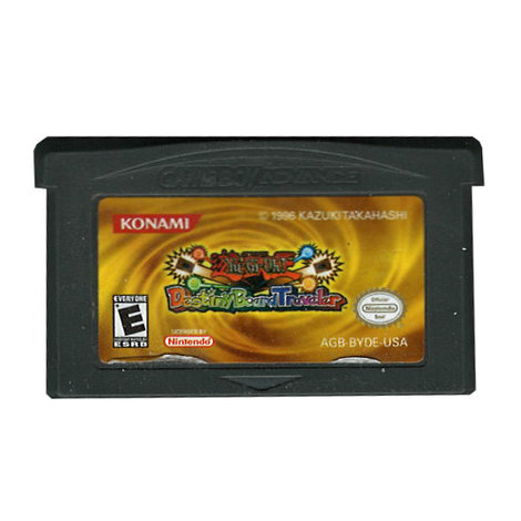 Yu-Gi-Oh! Destiny Board Traveler - GBA Game