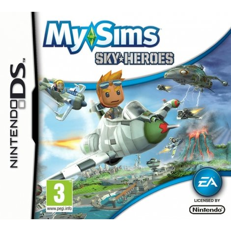 My Sims Sky Heroes - DS game