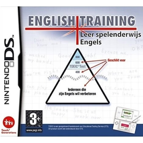 English Training - DS game