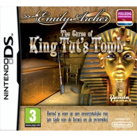 Emily Archers  Curse of King Tut's Tomb - DS game
