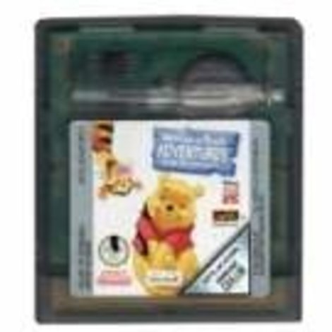 Winnie The Pooh  Adventures (losse cassete) - GBC Game