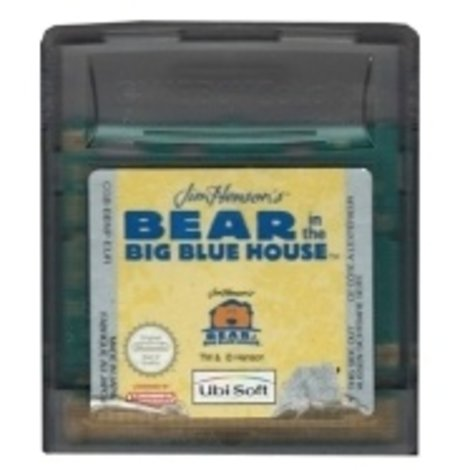 Bear In The Big Blue House (losse cassette) - GBC Game