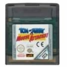 Tom and Jerry Mouse Attacks (losse cassette) - GBC Game