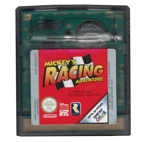 Mickey's Racing Adventure (losse cassette) - GBC Game