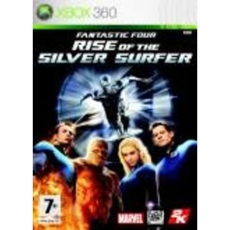 Fantastic Four Rise of the Silver Surfer - Xbox 360 Game