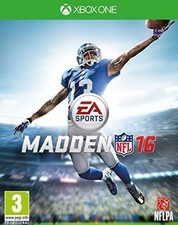 Madden NFL 16 - XBox One Game