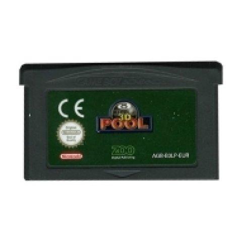 3D Pool - GBA Game