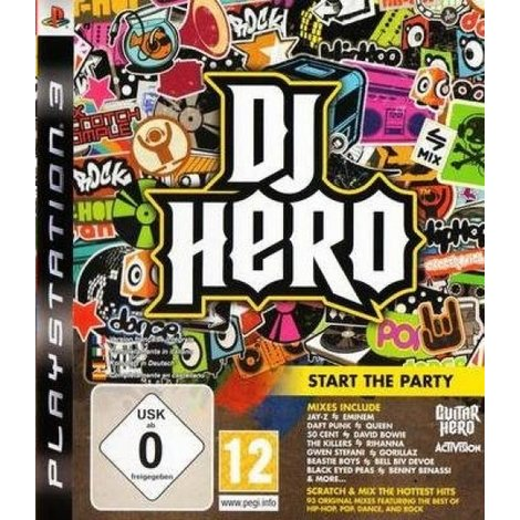 DJ Hero - PS3 Game