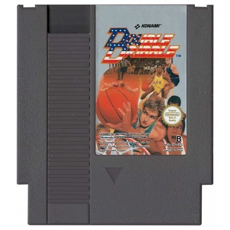 Double Dribble (Losse Cartridge) - NES Game