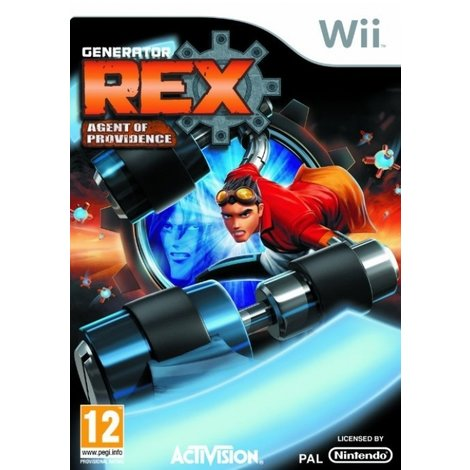 Generator Rex Agent of Providence - Wii Game