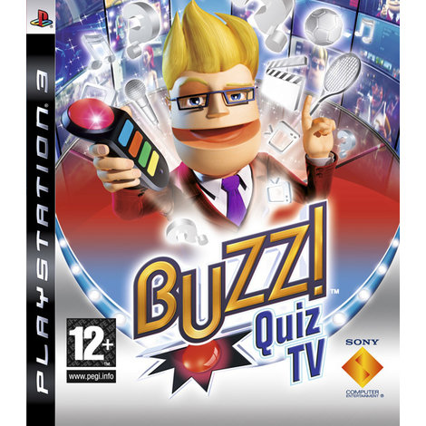 Buzz Quis TV - Playstation 3 game
