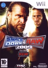 Smack Down vs Raw 2009 - Wii game
