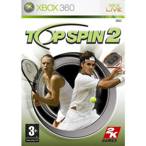 Top Spin 2 - Xbox 360 Game