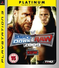 Smac Down VS Raw 2009 - PS3 Game