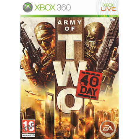 Army of Two The 40th Day - Xbox 360 Game