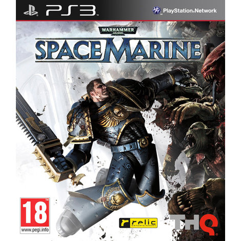 Warhammer 40000 Space Marine -PS3 Game