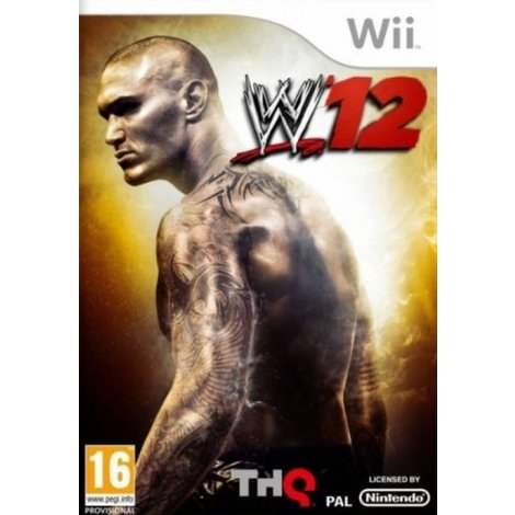 WWE '12 - Wii Game