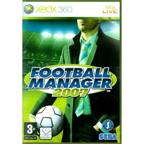 Football Manager - XBox360 Game