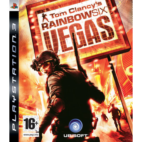 Tom Clancy's Ranbow Six Vegas - PS3 Game