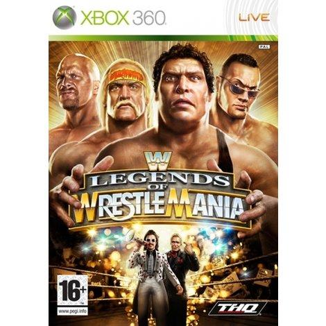 WWE Legends of Wrestlemania - XBox360 Game
