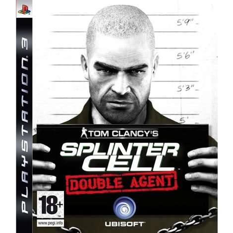 Splinter Cell Double Agent -PS3 Game