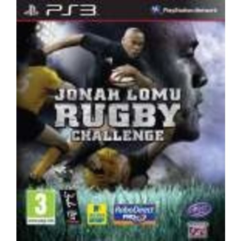 Jonah Lomu Rugby Challenge - PS3 Game