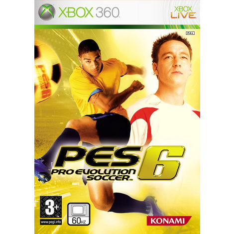 PES 6 - XBox360 Game