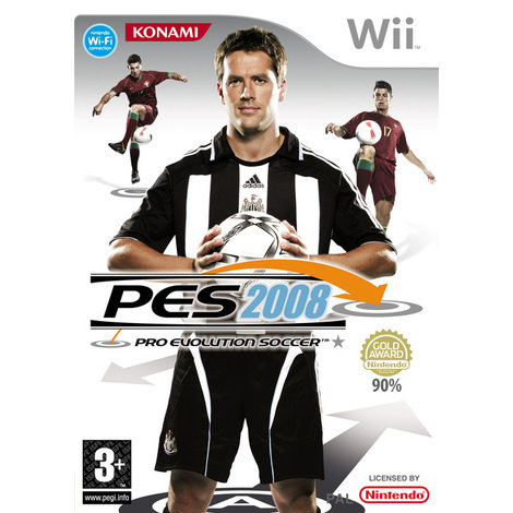 PES 2008 - Wii Game