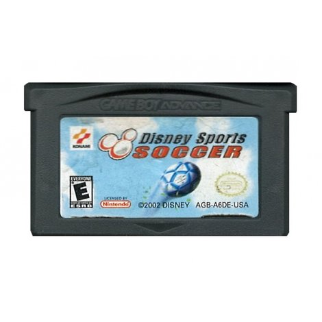 Disney Sports Soccer - GBA Game