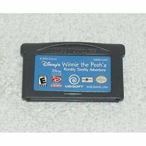 Winnie the Pooh's Rumbly Tumbly Adventures -GBA Game