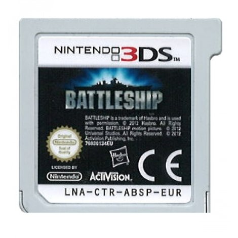 Battleship (game only) - DS Game
