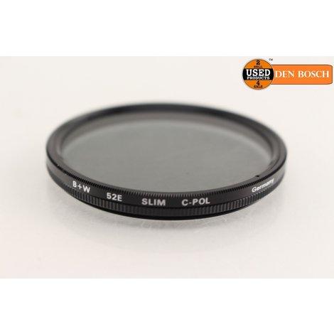 B+W 52E Slim Circular Polarisatiefilter