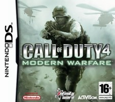Call of Duty 4 Modern Warfare - DS game