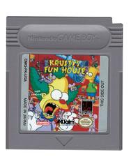 krusty Fun House - GB Game