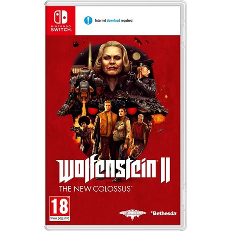 Wolfenstein II The New Colossus - Switch Game