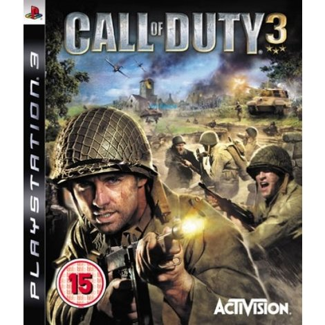Call of Duty 3 -PS3 Game