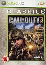 Call of Duty 3 Classics - XBox360 Game