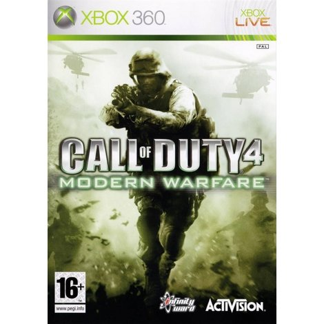 Call of Duty 4 - XBox360 Game