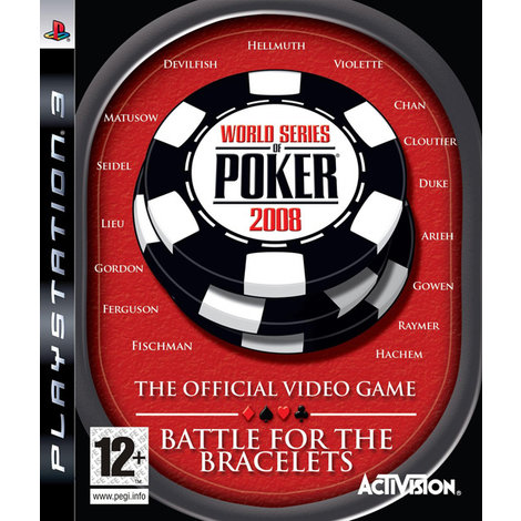 Poker 2008 - PS3 Game