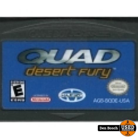 Quad Desert Fury (losse cassette) - GBA Game