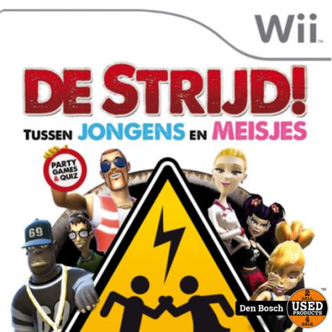 de Strijd tussen jongens en Meisjes - Wii Game