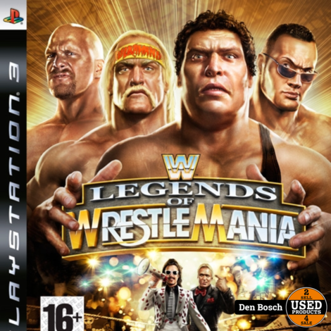 Legends of Wrestle Mania - PS3 Game