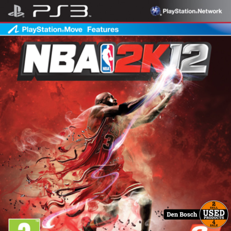 NBA 2K12 - PS3 Game
